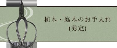 植木・庭木のお手入れ(剪定)